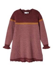 Bilde av Ull kjole whoopi mahogany mini
