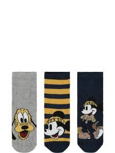 Bilde av 3 pk sokker Mickey otha dark
