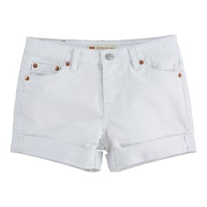 Bilde av Levi`s kort denim shorts white 10-16 år