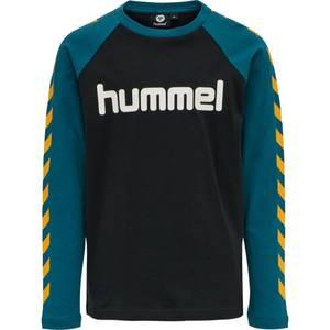 Bilde av Hml Boys ls t-shirt black