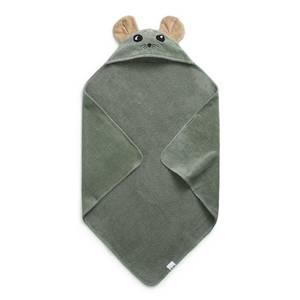 Bilde av Hooded towel hazy jade max