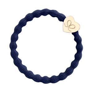 Bilde av BE Basic gold heart navy blue