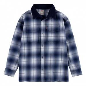Bilde av Levi`s plaid shirtjacket peacoat